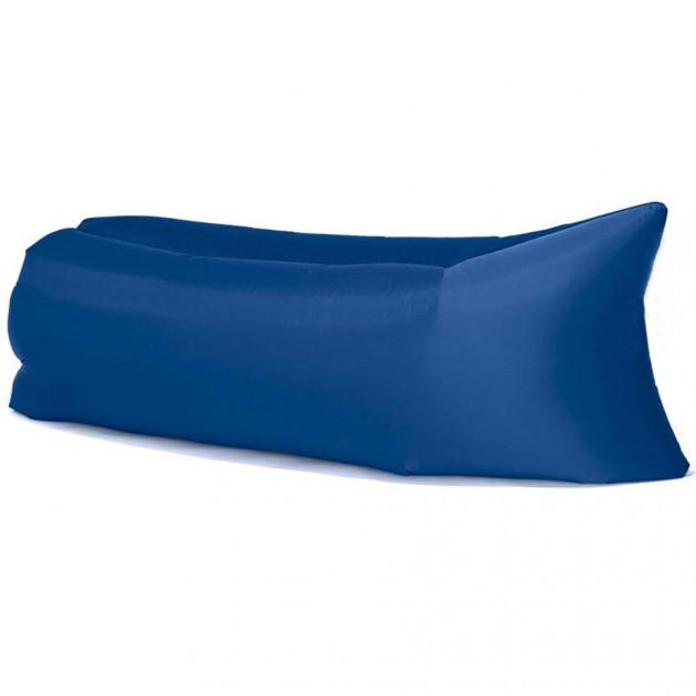 Надувной лежак гамак 240 см шезлонг диван Синий