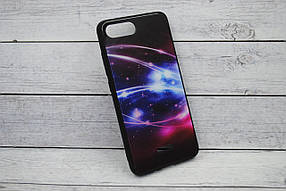 "Чехол для телефона Samsung M20/M205 Silicone TPU + Glass ""Mix"" №6"