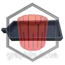 Лодочка графитовая для зонной плавки и очистки металлов