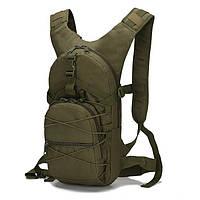 Армійський військовий рюкзак оливковий