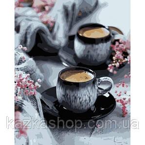 Картина по номерам - Кофе на двоих (КНО5548)
