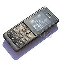 Корпус Nokia 107 чёрный с клавиатурой class AAA