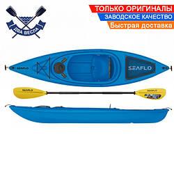 Корпусный каяк SF-1004 одноместный + весло, Sit-in, HDPE-RM, синий, 305 см