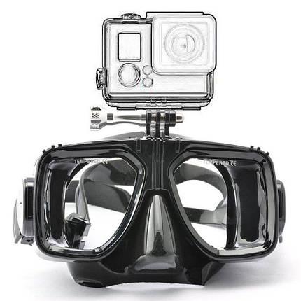 Комплект маска для дайвинга с креплением для Xiaomi+Трубка для плавания, фото 2