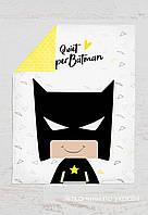 Панелька сатин Бэтмен 100*80