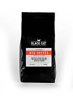 Кофе в зернах Black Cat Red Содержи 70% Арабики 30% Робуста 1 кг (11-354)