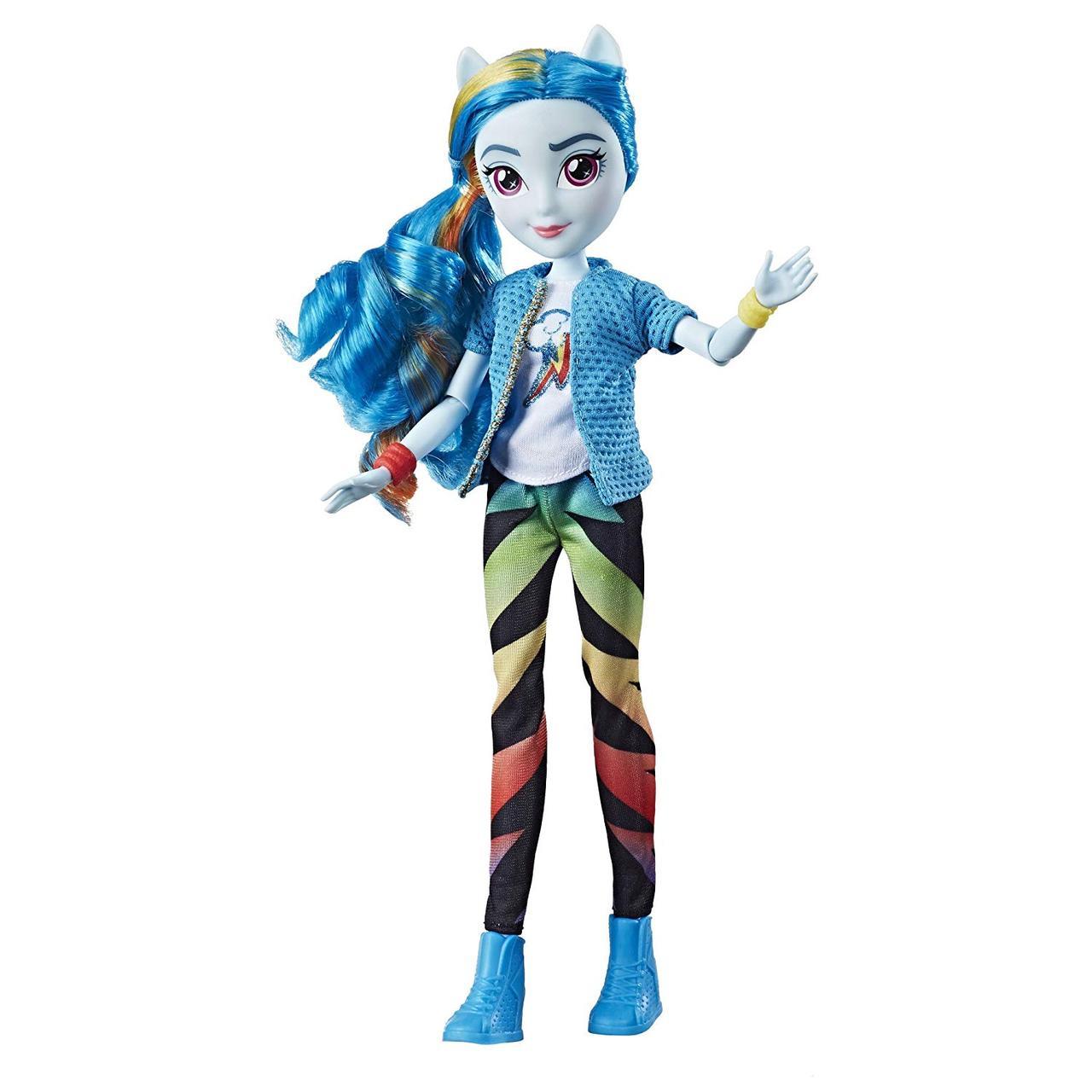 Кукла пони Рейнбоу Дэш Радуга классический стиль - My Little Pony Equestria Girls Classic Style Rainbow Dash