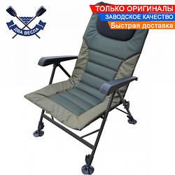 Карповое кресло Delux TRF-042, до 150 кг, сиденье 48*39 см, спинка и ножки регулируются