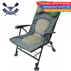 Карповое кресло Elite TRF-043, до 150 кг, сиденье 52*43 см, все регулируется, вставкии микрофлис