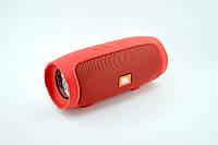 Портативная колонка JBL Charge mini 3+ (Bluetooth, FM, USB, 2 динамика, Soft touch) Red