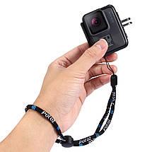 Страховочный ремешок на руку на монопод, поплавок, камеру, фото 3