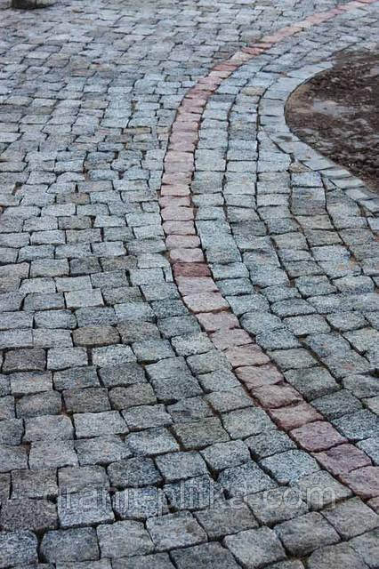 Мощение гранитной брусчатки Житомир - КП  Гранит в Житомире