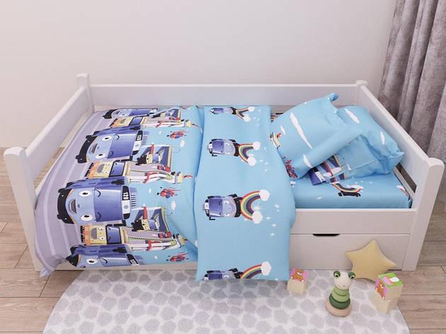Детский комплект постельного белья 150*220 хлопок (13421) TM KRISPOL Украина, фото 2