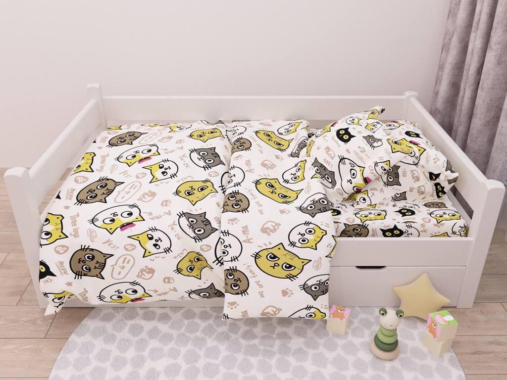 Детский комплект постельного белья 150*220 хлопок (13422) TM KRISPOL Украина
