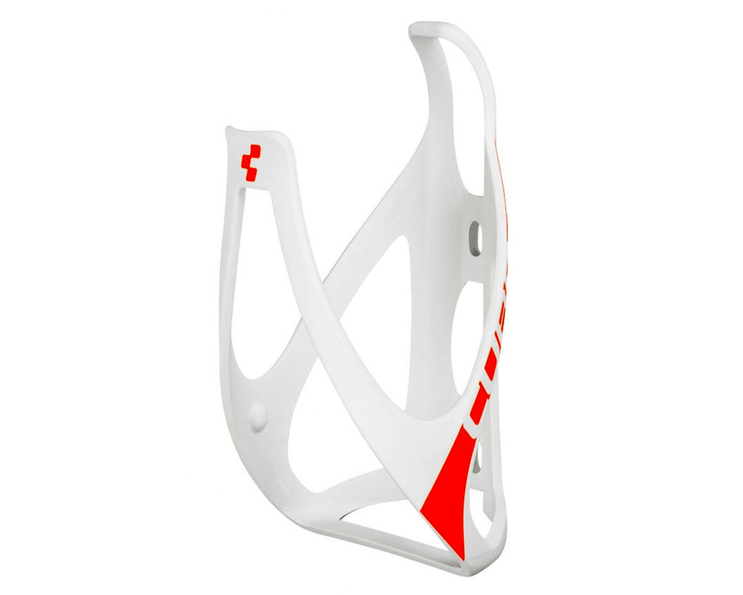 Флягодержатель Cube HPP, бело-красный