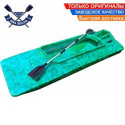 Пластиковая лодка скрадок для охоты рыбалки TomBoat ТВ-245 одноместная без регистрации цвет в ассортименте