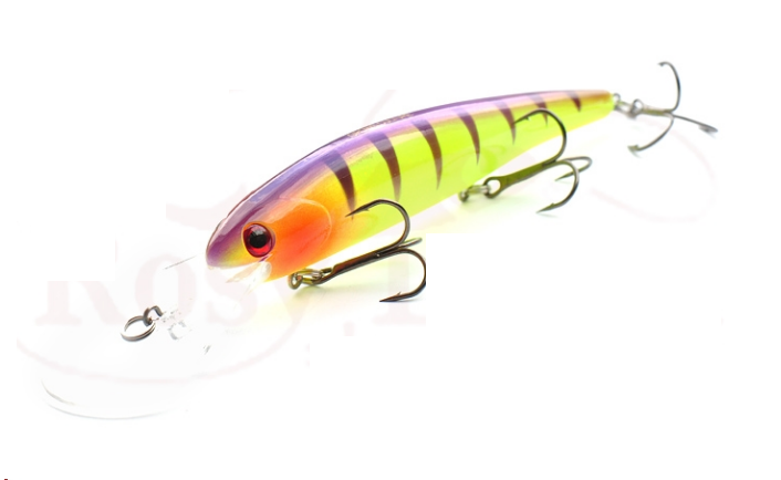 Воблер Bandit Walleye Deep 120mm 17.5g (копия Bandit ,Rosy Dawn , Grows Culture  )