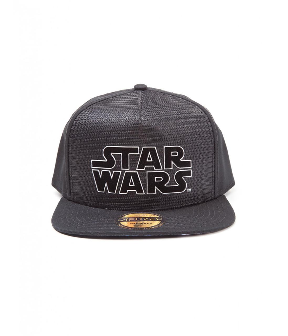 Офіційний снепбек Star Wars - Metal Logo Snapback