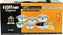 Набор кухонной посуды Hoffner 9969-(Grey) 12 элементов кастрюли, сковорода, сотейник, фото 8