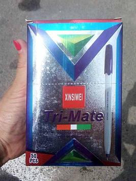 Ручка шариковая Tri-Mate черная 50шт