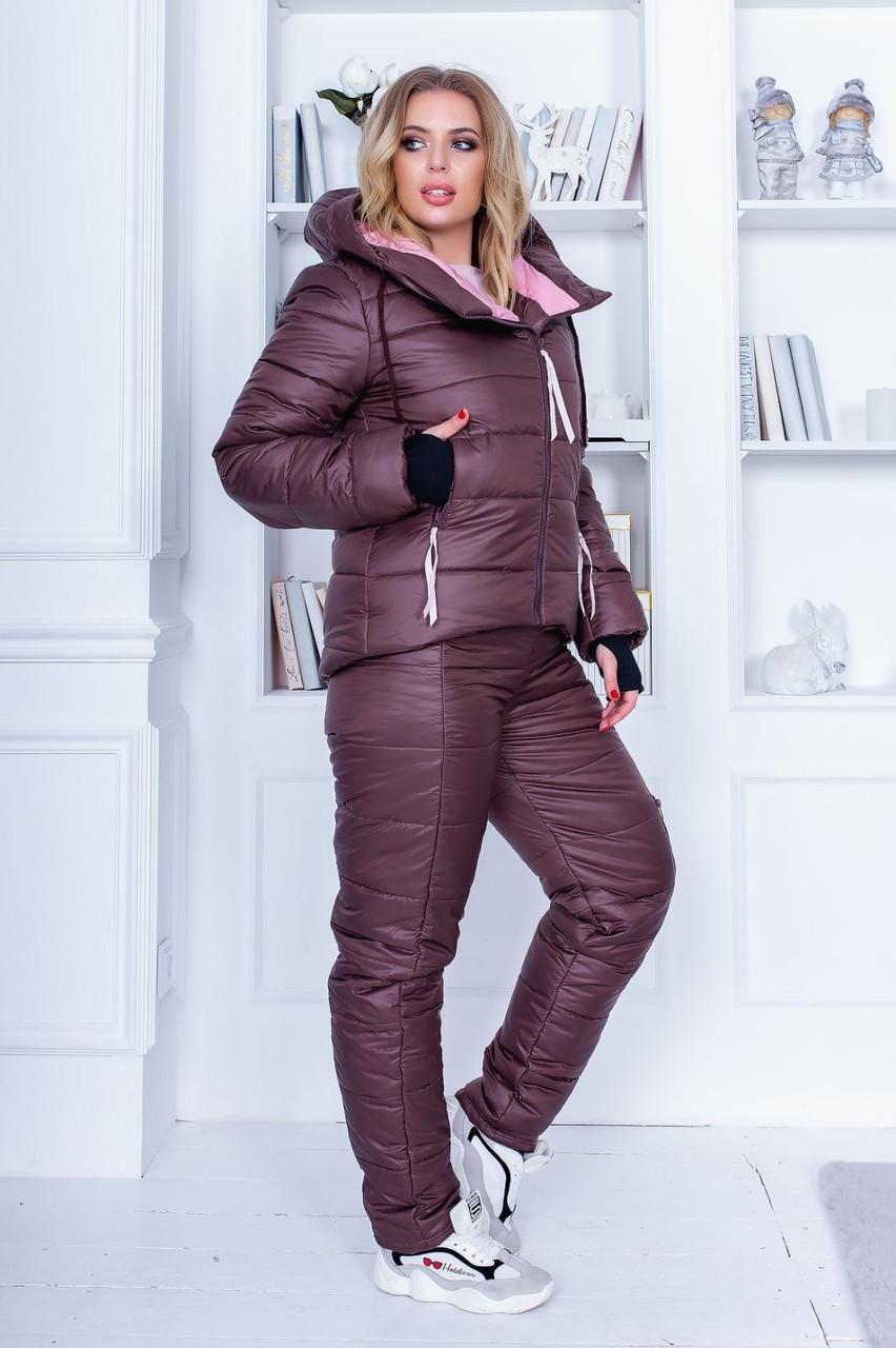 Зимний костюм на синтепоне  42-44,44-46,46-48,48-50,50-52,