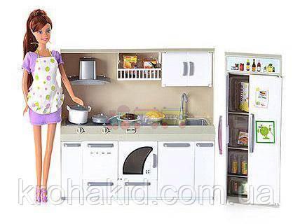 Кухня для Барби 6085 с куклой., фото 2