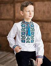 Дитяча вишиванка для хлопчика борщівська, фото 2