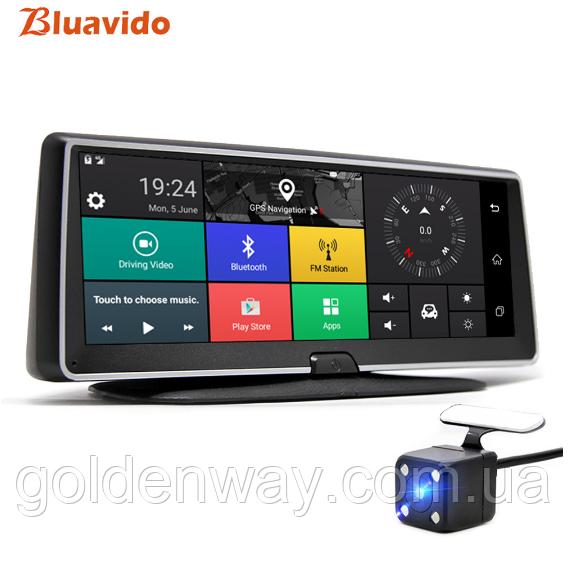Панель с видеорегистратором DVR 08 T7 Android (JUNSUN E26) 3G WiFi GPS, две камеры, парковка, навигация