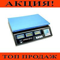 Электронные торговые весы Opera Plus до 40 кг!Хит цена