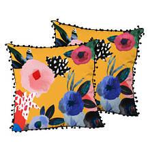 Подушка интерьерная декоративная шелк, размер 45*45 см