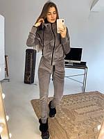 Модный велюровый женский спортивный костюм (Норма)