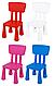 Детский столик IKEA LACK + 2 кресла MAMUT, фото 4