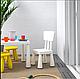 Детский столик IKEA LACK + 2 кресла MAMUT, фото 2