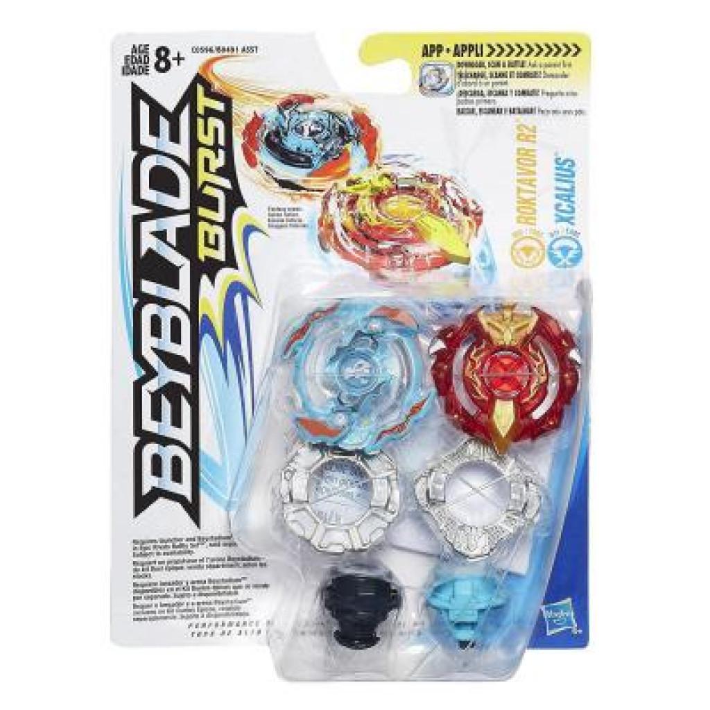 Волчок Hasbro Beyblade ROKTAVOR R2/XCALIUS (B9491 / C0596)