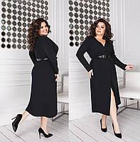 Женское платье большого размера.Размеры:48-58.+Цвета, фото 1