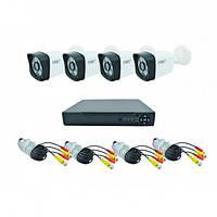 Набор DVR регистратор 4-канальный и 4 камеры ABX HD Camera Kit