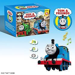 """Муз. розв. поїзд Thomas the Train """"Томас і друзі"""" 1819-7 (120шт/2) батар., звук поїзда, світ., в кор. 15,5*9*1"""