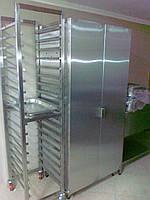 Стеллаж для хлебных лотков 620*737*64 передвижной