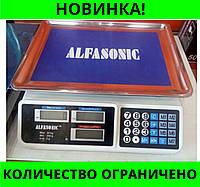 Весы торговые ALFASONIC AS-A072 до 50кг. платформа лодочкой!Розница и Опт