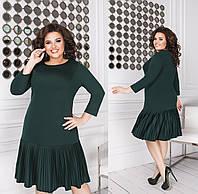 Женское платье большого размера.Размеры:48-50,,,58-62+Цвета, фото 1