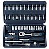 """1/4"""" Набор инструмента 12-гр. 46 пр. (4-14 мм) (FORCE 2462-9)"""