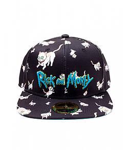 Офіційний снепбек Rick & Morty - Cats AOP Snapback