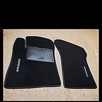 Ворсовые коврики в салон Dodge Avenger (Черные)