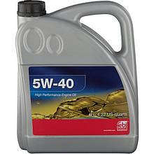 Моторное масло Febi 5w40  4л