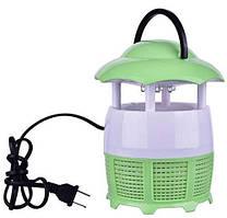 Уничтожитель комаров лампа-ловушка ABX E-Mosquito Killer Зеленая