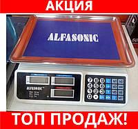 Весы торговые ALFASONIC AS-A072 до 50кг. платформа лодочкой!Хит цена
