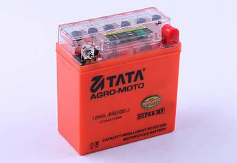 Аккумулятор 5Аh-YTX12N5-3B OUTDO (гелевый, оранж. С ИНДИКАТОРОМ) 120*61*129mm - Active 2019 г.