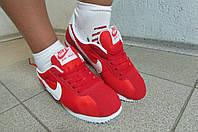 Кроссовки женские N красные (8207-3)  код 587А