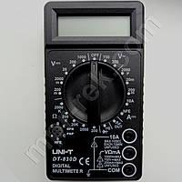 Цифровий мультиметр DT830D (до 1000В, 10А, 2МОм) виробництва UNIT, фото 1