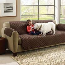 Накидка на диван, покрывало Couch Coat Lux двустороннее, фото 3